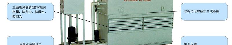 闭式冷却塔工作原理_电热设备