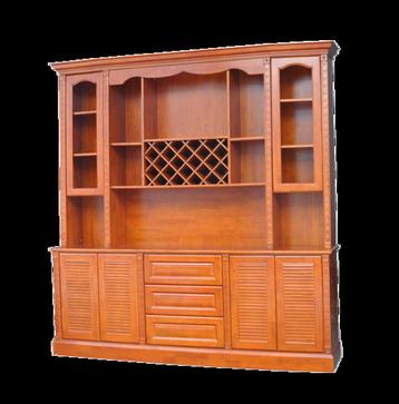 实木定制酒柜