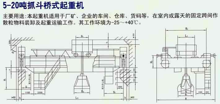 75吨桥式行车实物电路接线图